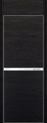 Дверь 11D, черный браш - НанШпон