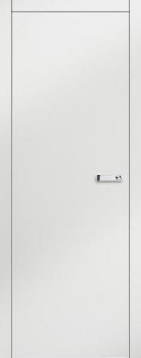 Дверь 1VG белый глянец - высокий глянец
