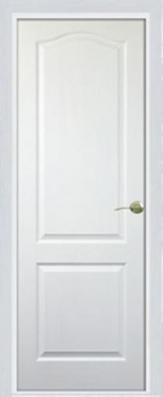 Дверь Классика Белая ДГ - МДФ