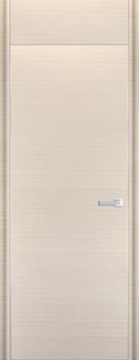 Дверь 1D, белый дуб браш - НанШпон