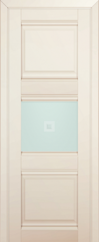 Дверь 5U, магнолия-сатинат, остекленная, матовое с узором