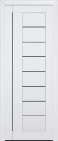 Дверь 17U, аляска, остекленная