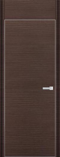 Дверь 1D, венге браш - НанШпон
