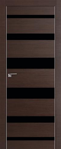 Дверь 18Z, венге черный лак - Экошпон