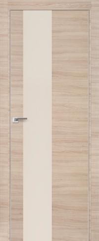 Дверь 5Z, капучино кроскут, перламутровый лак - Экошпон