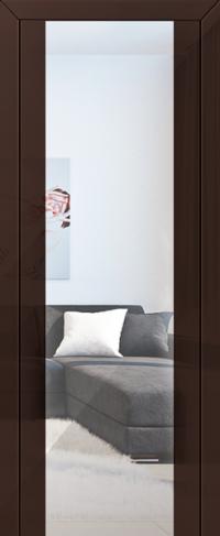 Дверь 8L, терра, зеркальный триплекс