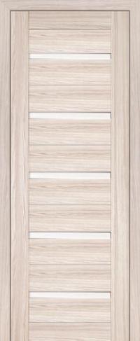 Дверь 7X, капучино мелинга - Экошпон