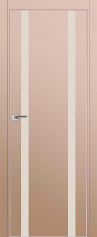 Дверь 9E Капучино сатинат, перламутровый лак