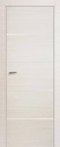 Дверь 20Z, эшвайт кроскут, белый лак - Экошпон