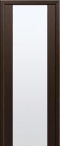 Дверь 8X, венге мелинга, белый триплекс - Экошпон