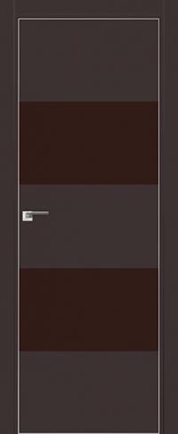 Дверь 10E Темно-коричневый, коричневый лак