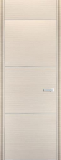 Дверь 2D, белый дуб браш - НанШпон