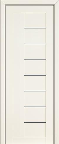 Дверь 37L, белый люкс, остекленная