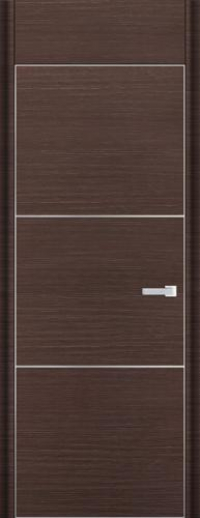 Дверь 2D, венге браш - НанШпон