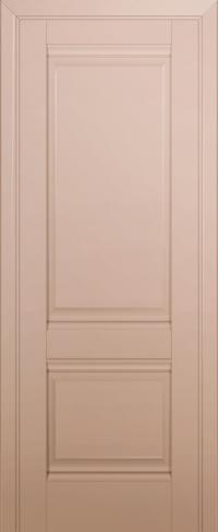 Дверь 1U, капучино-сатинат, глухая
