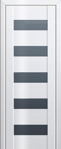 Дверь 29L, белый люкс, остекленная