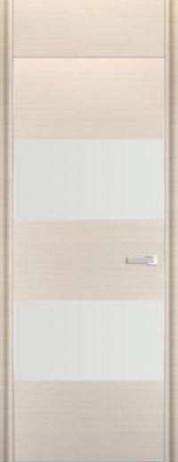 Дверь 10D, белый дуб браш - НанШпон