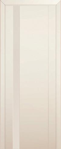 Дверь 62U, магнолия, остекленная, перламутровый лак