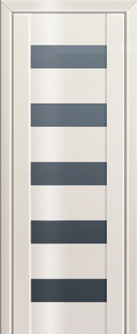 Дверь 29L, магнолия люкс, остекленная
