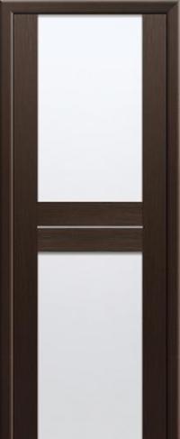 Дверь 10X, венге мелинга, белый триплекс - Экошпон