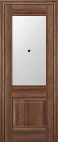 Дверь 2X, орех сиена - Экошпон