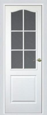 Дверь Классика Белая ДО - МДФ