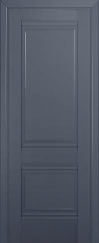 Дверь 1U, антрацит, глухая
