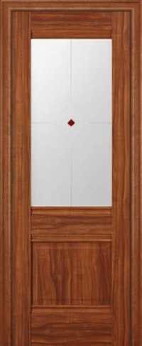 Дверь 2X, орех амари - Экошпон
