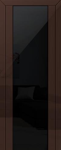 Дверь 8L, терра, черный триплекс