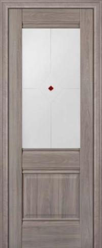 Дверь 2X, орех пекан - Экошпон