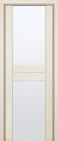 Дверь 10X, эш вайт мелинга, белый триплекс - Экошпон