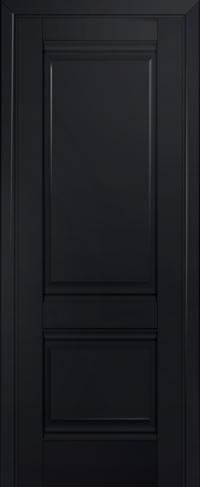Дверь 1U, черный-матовый, глухая