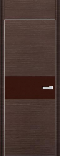 Дверь 4D, венге браш - НанШпон
