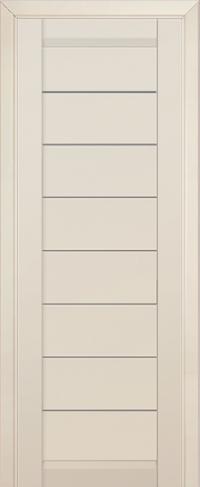 Дверь 71U, магнолия сатинат, остекленная