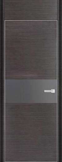 Дверь 4D, грей браш - НанШпон