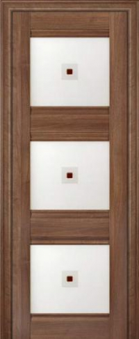 Дверь 4X, орех сиена - Экошпон