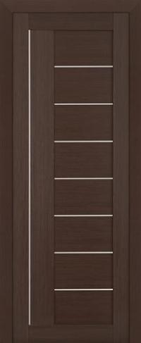 Дверь 17X, венге мелинга - Экошпон
