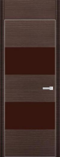 Дверь 10D, венге браш - НанШпон