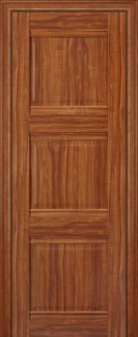 Дверь 3X, орех амари - Экошпон