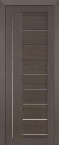 Дверь 17X, грей мелинга - Экошпон