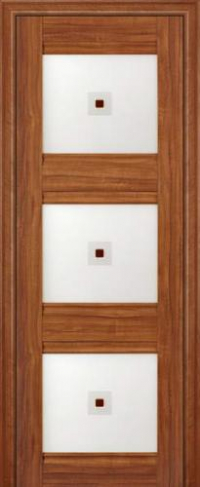 Дверь 4X, орех амари - Экошпон