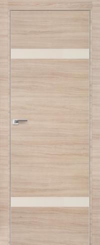 Дверь 3Z, капучино кроскут, перламутровый лак - Экошпон