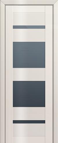 Дверь 72L, магнолия люкс, остекленная