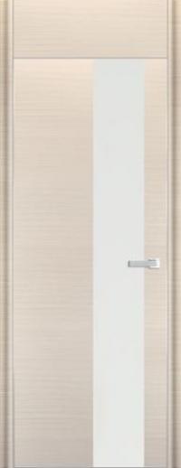 Дверь 5D, белый дуб браш - НанШпон