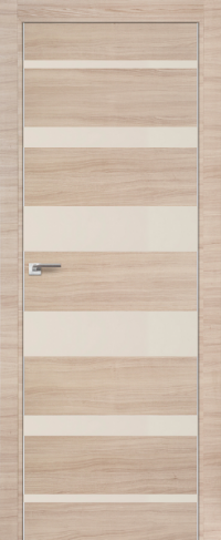 Дверь 18Z, капучино, перламутровый лак - Экошпон