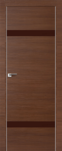 Дверь 3Z, малага черри кроскут, коричневый - Экошпон