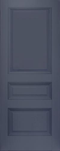 Дверь 66U, антрацит, глухая