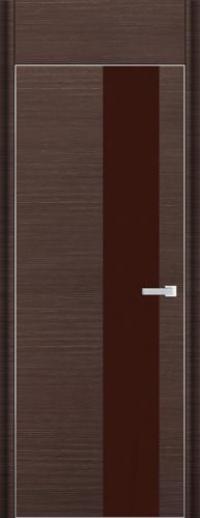 Дверь 5D, венге браш - НанШпон