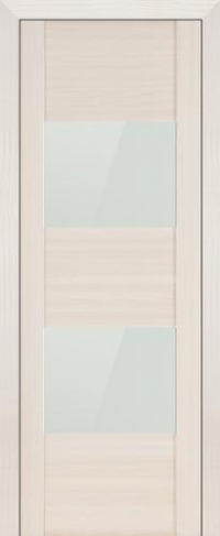 Дверь 21X, эш вайт мелинга, белый глянцевый лак - Экошпон