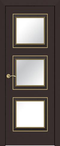 Дверь 54E Темно-коричневый